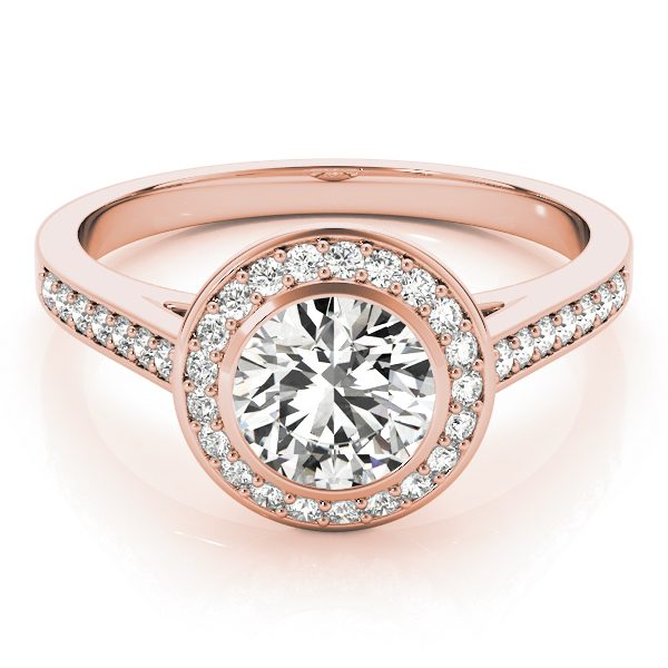 man made diamond engagement