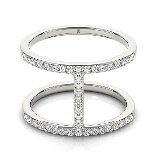 man made diamond fashion ring