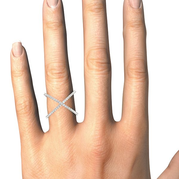 lab grown fashion ring