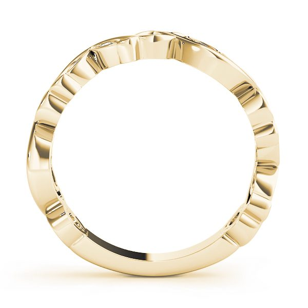 man made diamond stackable ring