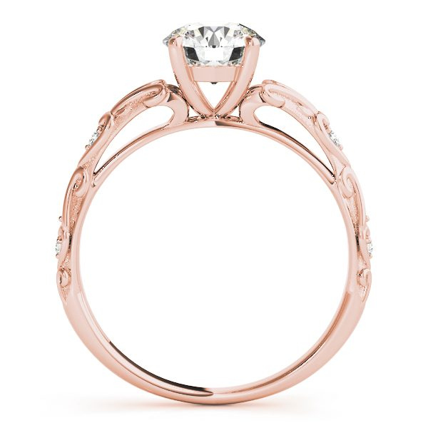 lab created diamond engagement ring
