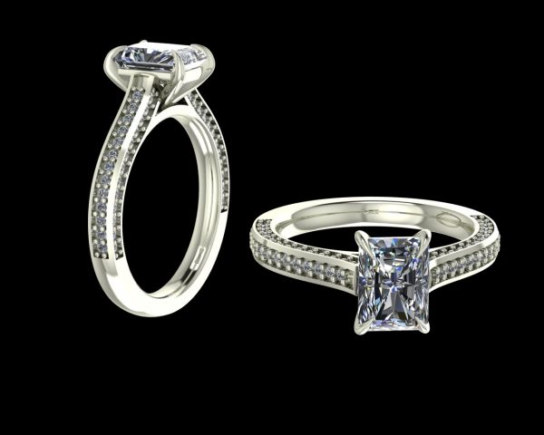 LAB DIAMOND RING
